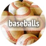 used baseballs