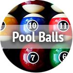 used pool balls